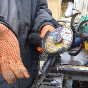 Заклинило диск в болгарке