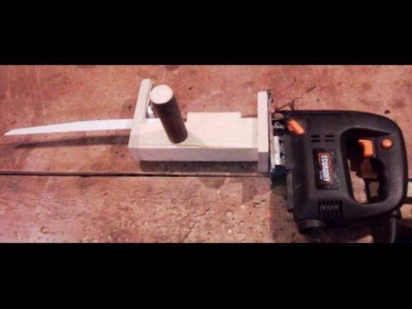 Переделка сабельной пилы из электролобзика