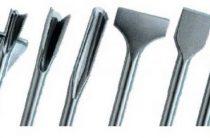 Разновидности насадок на перфоратор: лопатка, зубило, пика и насадки sds, для ремонтных работ