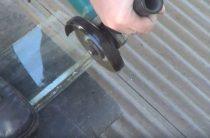 Как можно разрезать стекло при помощи болгарки