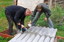 Как разрезать шифер с помощью болгарки