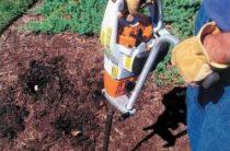 Что такое земляной бур для перфоратора и как своими руками можно вырыть скважину или отверстие круглого сечения